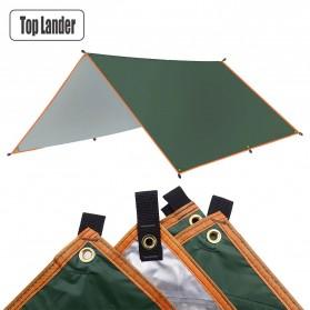 TOPLANDER Tenda Kanopi Waterproof Tarp Shelter Camp Tent Garden Canopy 4 x 3 M - CBN300 - Green