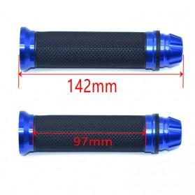 Rizoma Grip Gagang Sepeda Handlebar Rubber 22mm - C2 - Black - 4