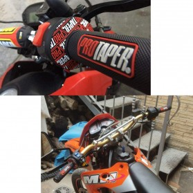 PROTAPER Grip Gagang Motor Handlebar Anti Slip - B08 - Black/Red