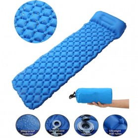 NatureBell Kasur Matras Angin Inflatable Air Rhombus Design for Sleeping Bag - NH19 - Blue - 1