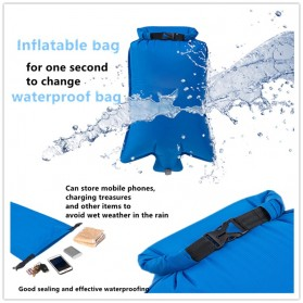 NatureBell Kasur Matras Angin Inflatable Air Rhombus Design for Sleeping Bag - NH19 - Blue - 8
