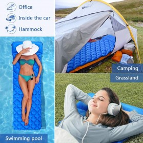 NatureBell Kasur Matras Angin Inflatable Air Rhombus Design for Sleeping Bag - NH19 - Blue - 9