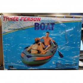 XC LOHAS Perahu Karet Inflatable Boat 2-3 Orang 230 x 130cm - XC230 - Green - 7