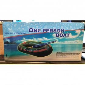 XC LOHAS Perahu Karet Inflatable Boat 1 Orang 150 x 80cm - XC230 - Green - 7
