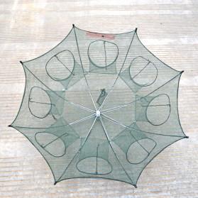 Jaring Pancing Ikan Hexagonal 8 Hole Fishing Net Trap Cage Version 02 - 2