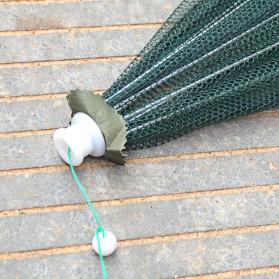 Jaring Pancing Ikan Hexagonal 8 Hole Fishing Net Trap Cage Version 02 - 4