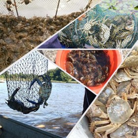 Jaring Pancing Ikan Hexagonal 8 Hole Fishing Net Trap Cage Version 02 - 7