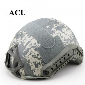 Demeysis Helm Tactical Airsoft Gun Paintball CS SWAT - DEM2001 - Army Gray