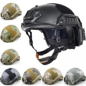 Demeysis Helm Tactical Airsoft Gun Paintball CS SWAT - DEM2001 - Army Gray - 2