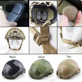 Demeysis Helm Tactical Airsoft Gun Paintball CS SWAT - DEM2001 - Army Green - 3