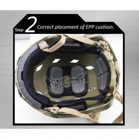 Demeysis Helm Tactical Airsoft Gun Paintball CS SWAT - DEM2001 - Army Green - 5