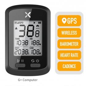 XOSS G+ Speedometer Sepeda Cycling Dual Sensor ANT+ for Garmin iGPSPORT Bryton - X400 - Black