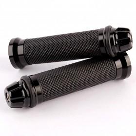 Evomosa Grip Gagang Motor Universal Handlebar Anti Slip - CN6746 - Black