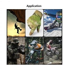 WALLY SKY Sarung Tangan Motor Full Finger Touchscreen Size L - HG012 - Black - 10