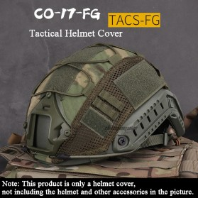 PNext Cover Helm Tactical Airsoft Gun Paintball CS SWAT - PX001 - Army Green