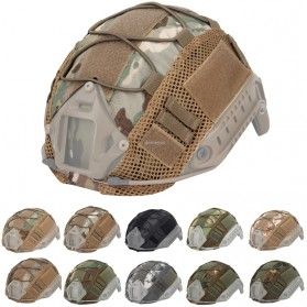 WST Cover Helm Tactical Airsoft Gun Paintball CS SWAT - A-TACS - Army Green - 2