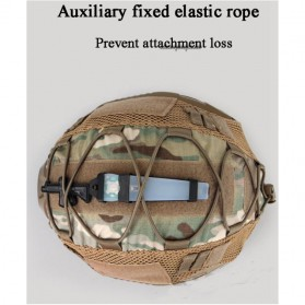 WST Cover Helm Tactical Airsoft Gun Paintball CS SWAT - A-TACS - Army Green - 7