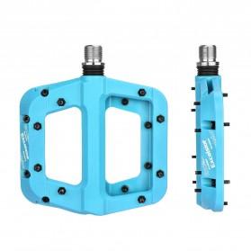 MZYRH EXCELSIOR Pedal Sepeda Nylon Fiber Composite Anti-Slip - RBM541 - Blue - 1