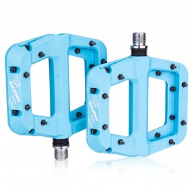 MZYRH EXCELSIOR Pedal Sepeda Nylon Fiber Composite Anti-Slip - RBM541 - Blue - 2