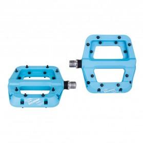 MZYRH EXCELSIOR Pedal Sepeda Nylon Fiber Composite Anti-Slip - RBM541 - Blue - 3