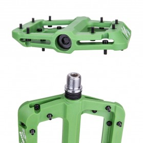 MZYRH EXCELSIOR Pedal Sepeda Nylon Fiber Composite Anti-Slip - RBM541 - Blue - 5