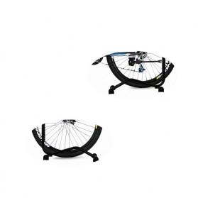 MIMRAPRO Stand Parkir Sepeda Bicycle Racks Floor Standing Bike Display - L150 - Black - 2