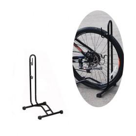 MIMRAPRO Stand Parkir Sepeda Bicycle Racks Floor Standing Bike Display - L150 - Black - 8