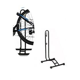 MIMRAPRO Stand Parkir Sepeda Bicycle Racks Floor Standing Bike Display - L150 - Black - 9
