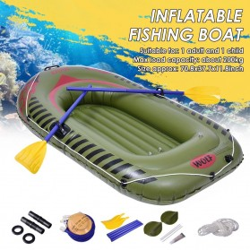 XC LOHAS Perahu Karet Inflatable Boat 2 Orang 180 x 110cm - XC230-B - Green