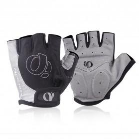 Vertvie Sarung Tangan Half Finger Anti-Slip Size M - S624 - Gray