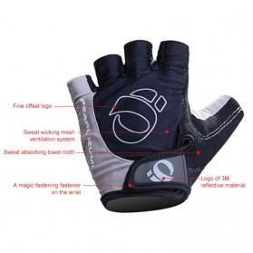 Vertvie Sarung Tangan Half Finger Anti-Slip Size M - S624 - Gray - 3