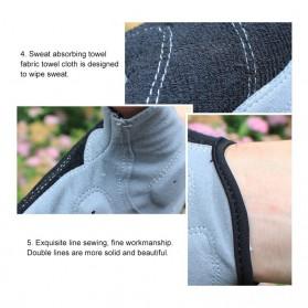 Vertvie Sarung Tangan Half Finger Anti-Slip Size M - S624 - Gray - 6