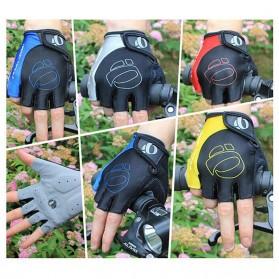 Vertvie Sarung Tangan Half Finger Anti-Slip Size M - S624 - Gray - 8