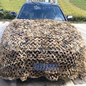 Woodland Jaring Net Kamuflase Net Hidden Hunting Shooting Car Cover 2.75x1.75 Meter - W1000 - Camouflage