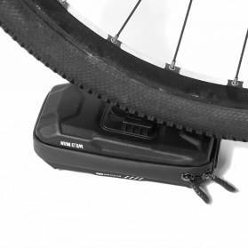 WILD MAN Tas Sepeda Smartphone Case Holder Handlebar Hard Shell Waterproof 0.5L - X-3 - Black - 7