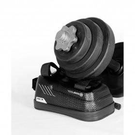 WILD MAN Tas Sepeda Smartphone Case Holder Handlebar Hard Shell Waterproof 1L - E2 - Black - 3