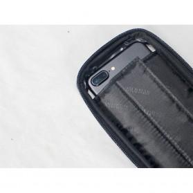 WILD MAN Tas Sepeda Smartphone Case Holder Handlebar Hard Shell Waterproof 1L - E2 - Black - 4