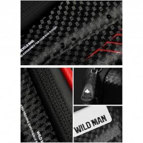 WILD MAN Tas Sepeda Smartphone Case Holder Handlebar Hard Shell Waterproof 1L - E2 - Black - 8