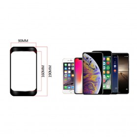 WILD MAN Tas Sepeda Smartphone Case Holder Handlebar Hard Shell Waterproof 1L - E2 - Black - 9