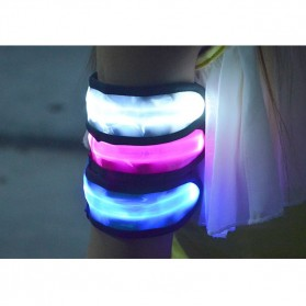 ALOD LED Warning Strap Arm Band Gelang LED Sepeda - AD20 - Green