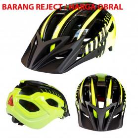 ZTTO Helm Sepeda EPS Bike Helmet Styrofoam PC - WX-026 (OBRAL/DEFECT) - Yellow