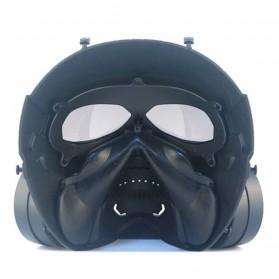 SKG Masker Motor Topeng Airsoft Gun Paintball With Fan Model Tengkorak Skull - M10-2 - Black - 5