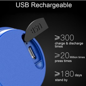 TWOOC Bel Sepeda Electric USB Rechargerable - T002 - Black - 9