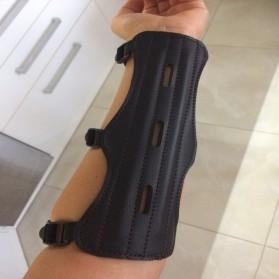 Ourpgone Pelindung Lengan Pemanah Archery Bracer Arm Protector - 01023 - Black