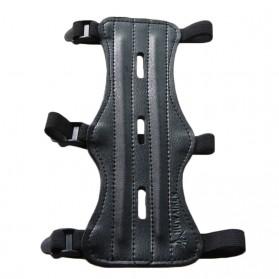 Ourpgone Pelindung Lengan Pemanah Archery Bracer Arm Protector - 01023 - Black - 3
