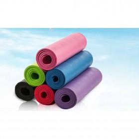 NBR Karpet Pilates Yoga Anti Slip 10mm - 180906 - Black - 4