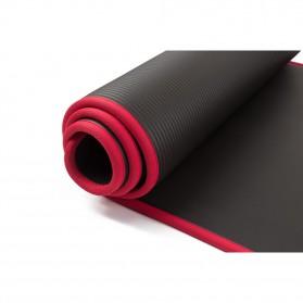 NBR Karpet Pilates Yoga Anti Slip 10mm - 180906 - Black - 9