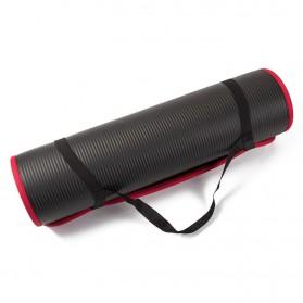 NBR Karpet Pilates Yoga Anti Slip 10mm - 180906 - Black - 11