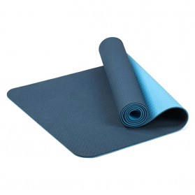 Karpet Pilates Yoga Anti Slip TPE 6mm - 0914YJD01 - Blue