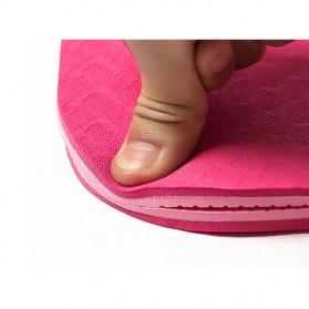 Karpet Pilates Yoga Anti Slip TPE 6mm - 0914YJD01 - Blue - 6